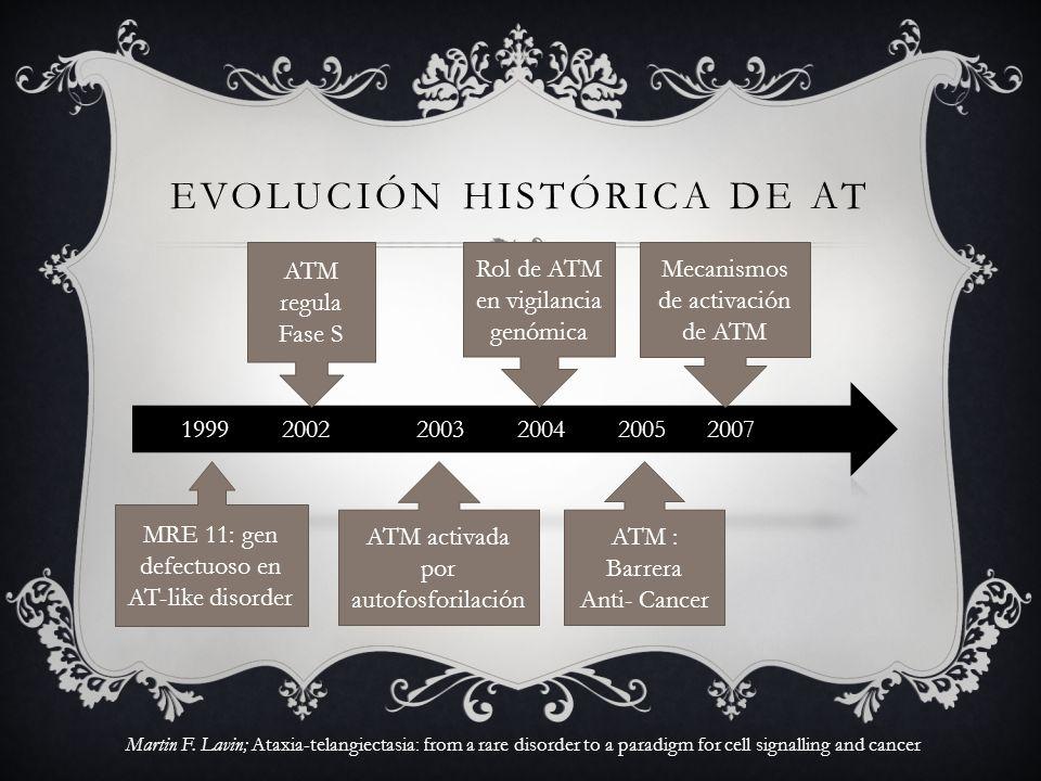 EvoluciÓn histórica de AT