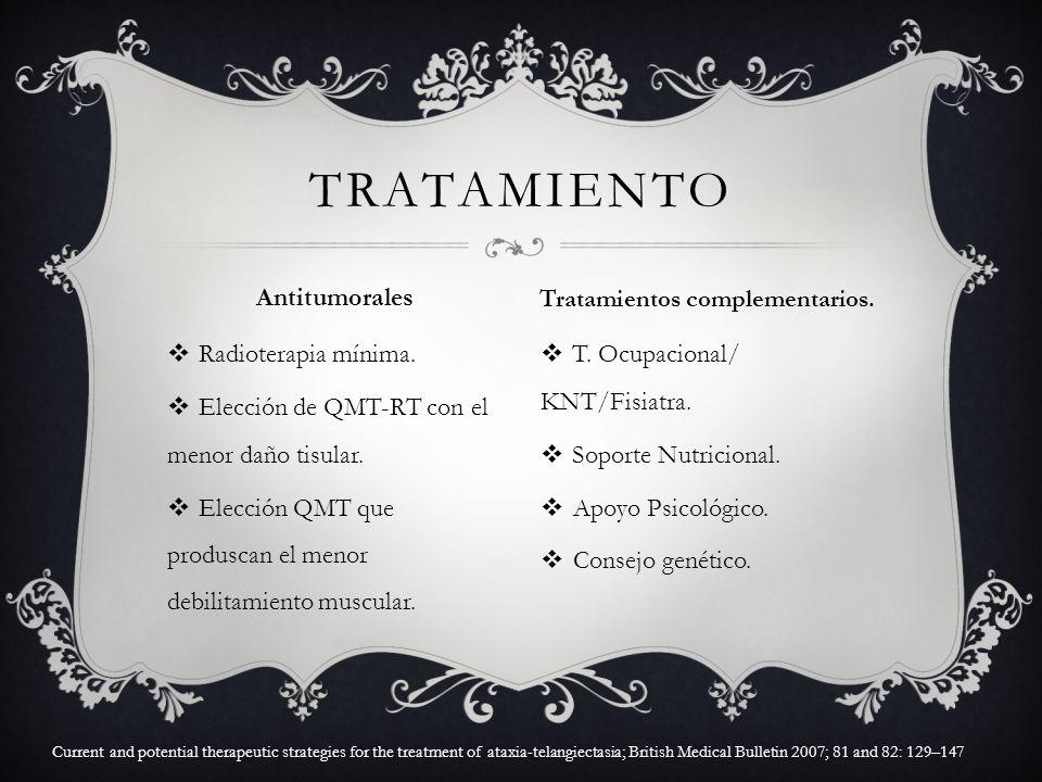 Tratamientos complementarios.