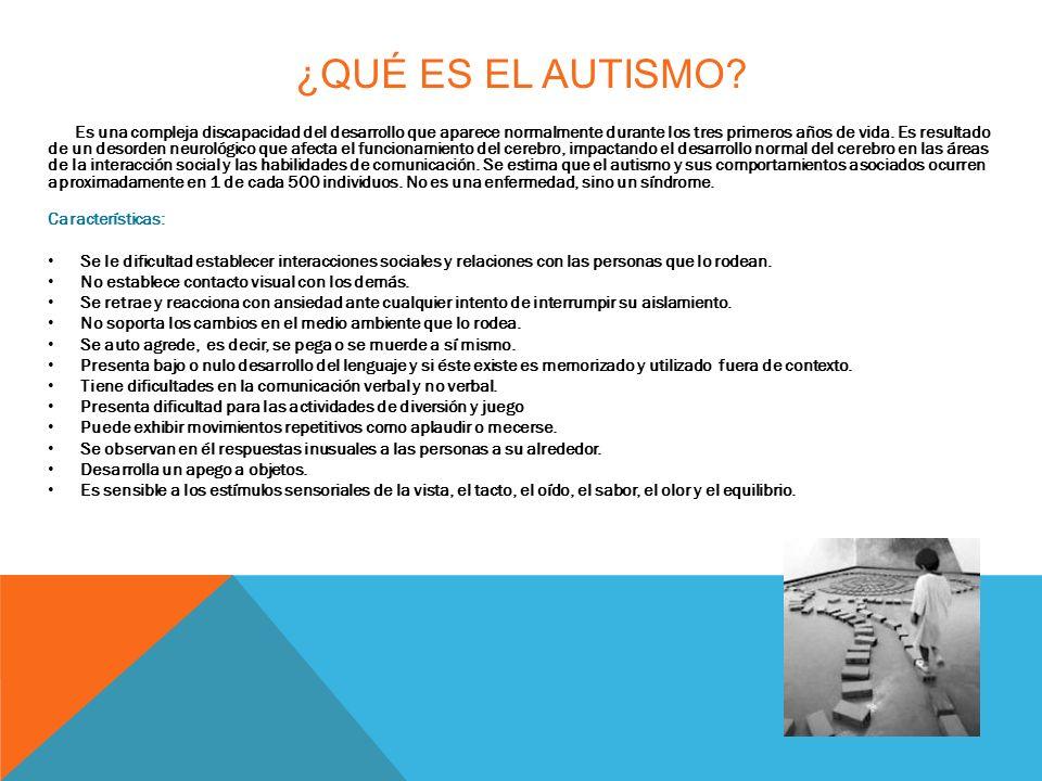 ¿Qué es el autismo