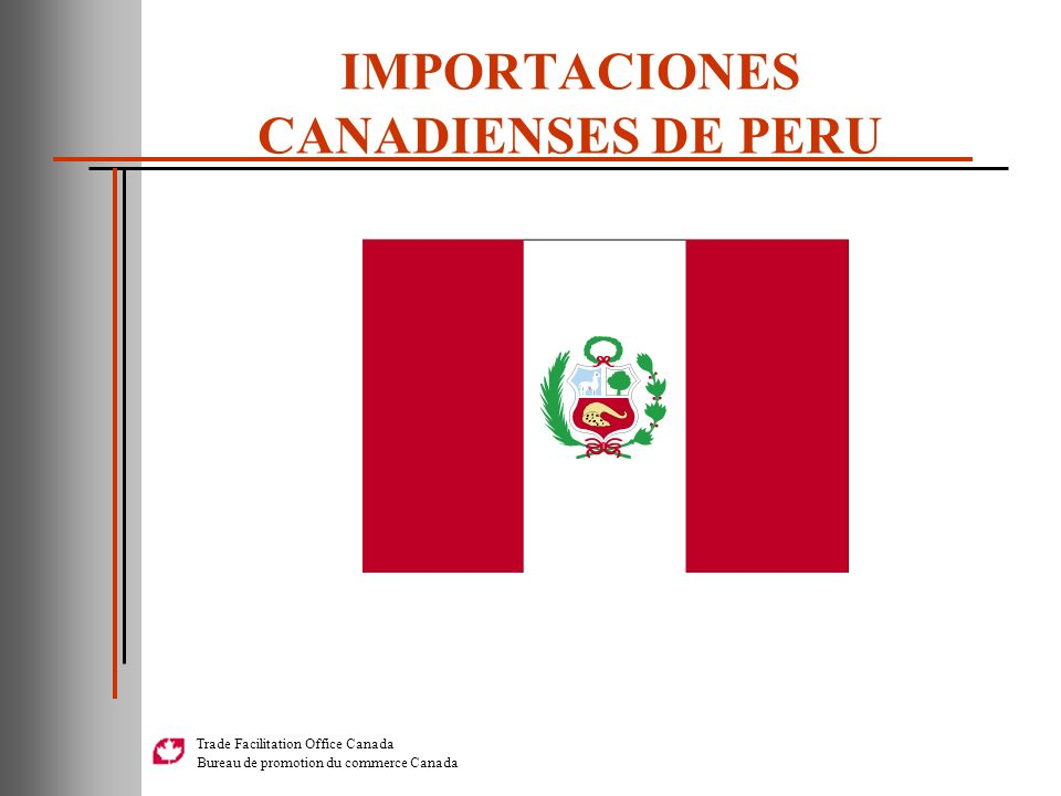 IMPORTACIONES CANADIENSES DE PERU