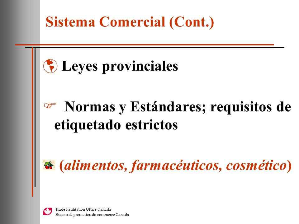 Sistema Comercial (Cont.)