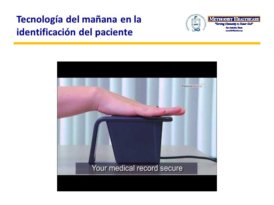 Tecnología del mañana en la identificación del paciente
