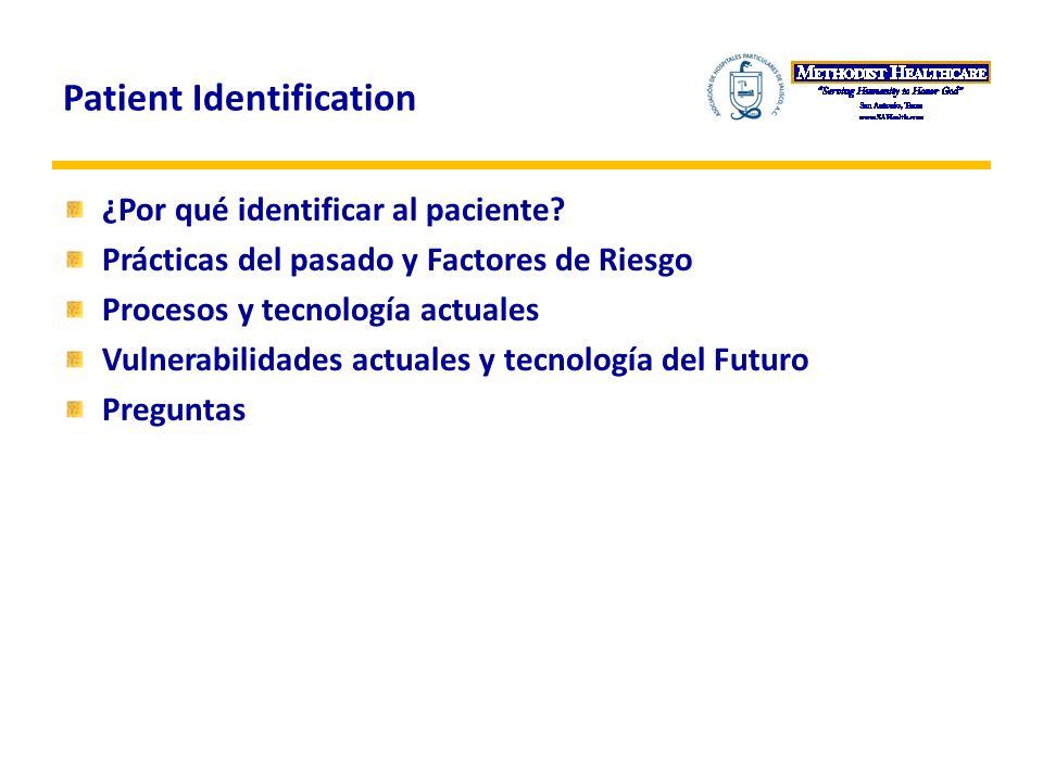 Patient Identification