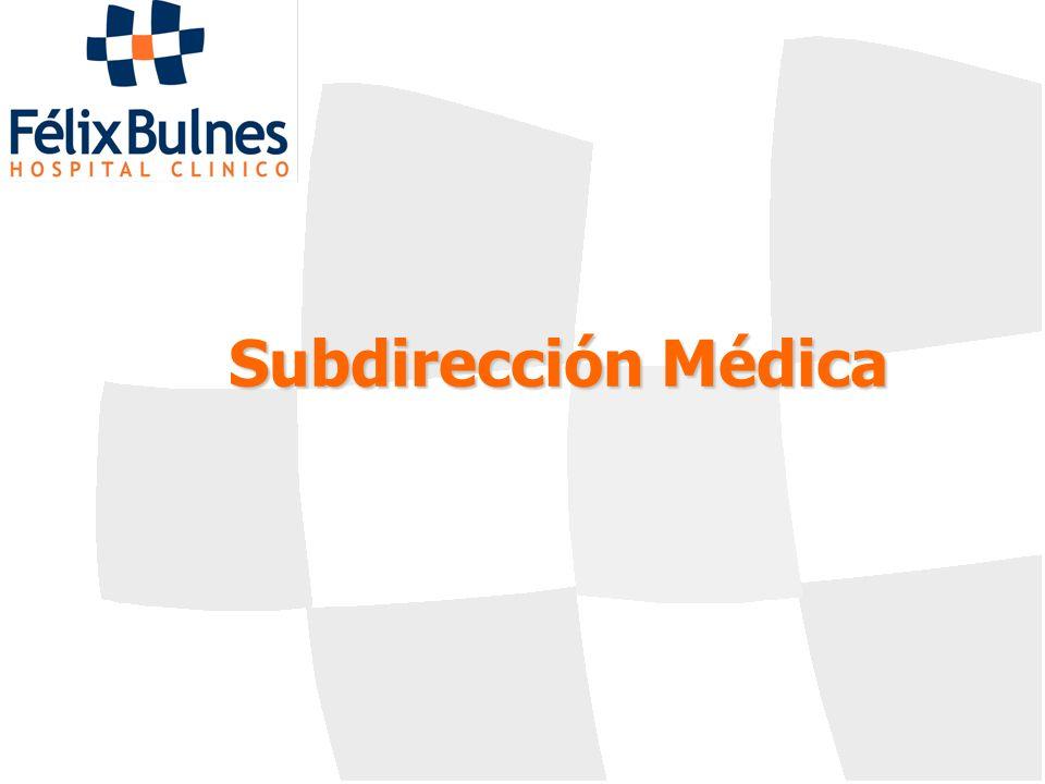 Subdirección Médica