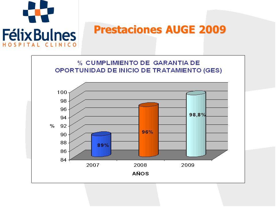 Prestaciones AUGE 2009 23