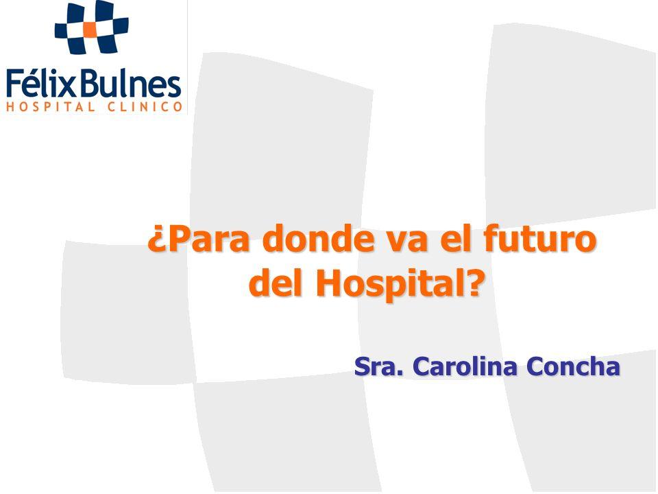 ¿Para donde va el futuro del Hospital