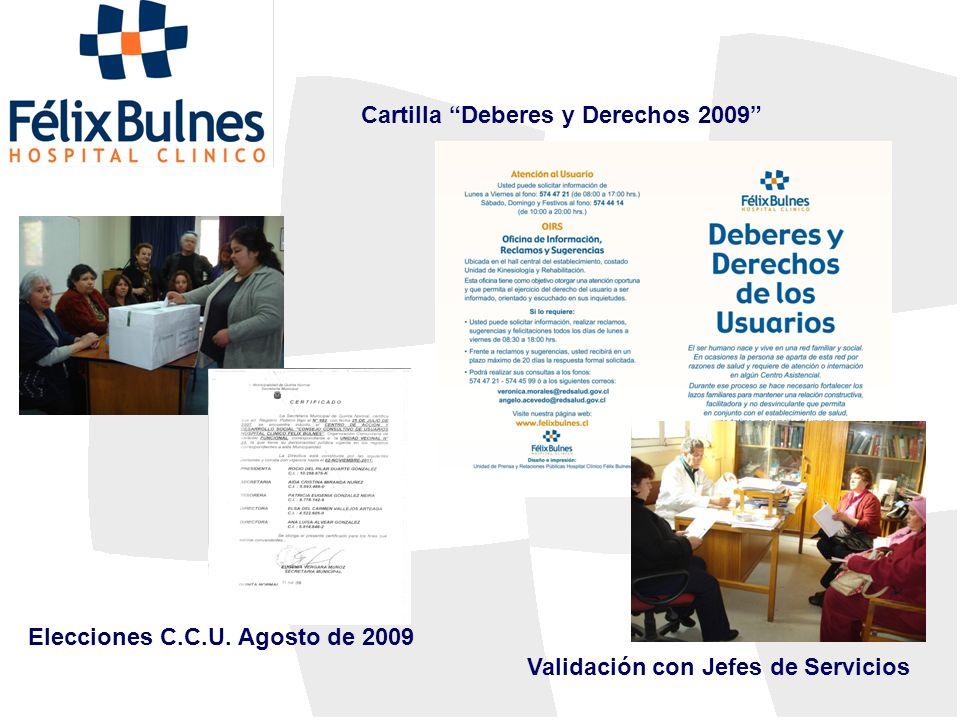Cartilla Deberes y Derechos 2009