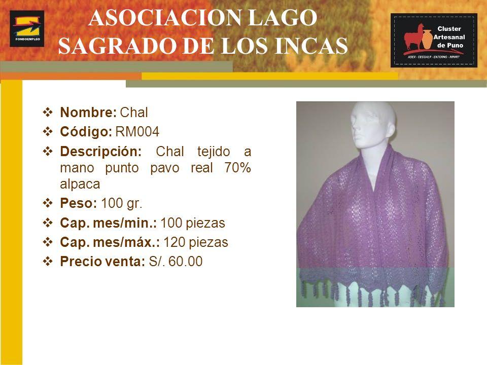 ASOCIACION LAGO SAGRADO DE LOS INCAS