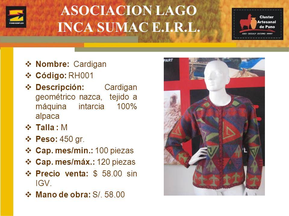 ASOCIACION LAGO INCA SUMAC E.I.R.L.