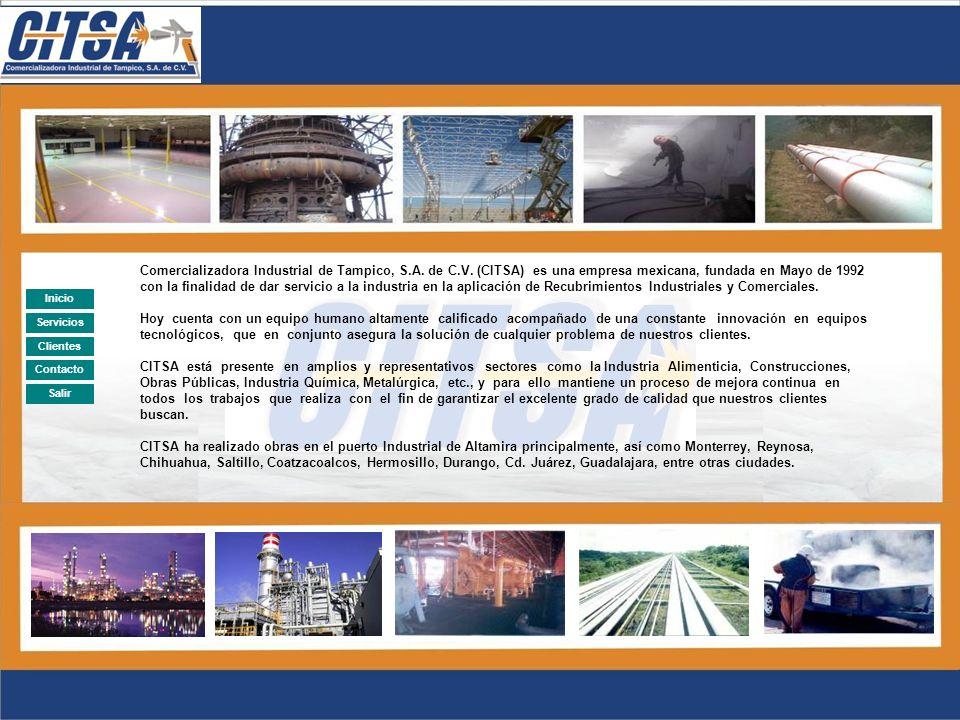 Comercializadora Industrial de Tampico, S. A. de C. V