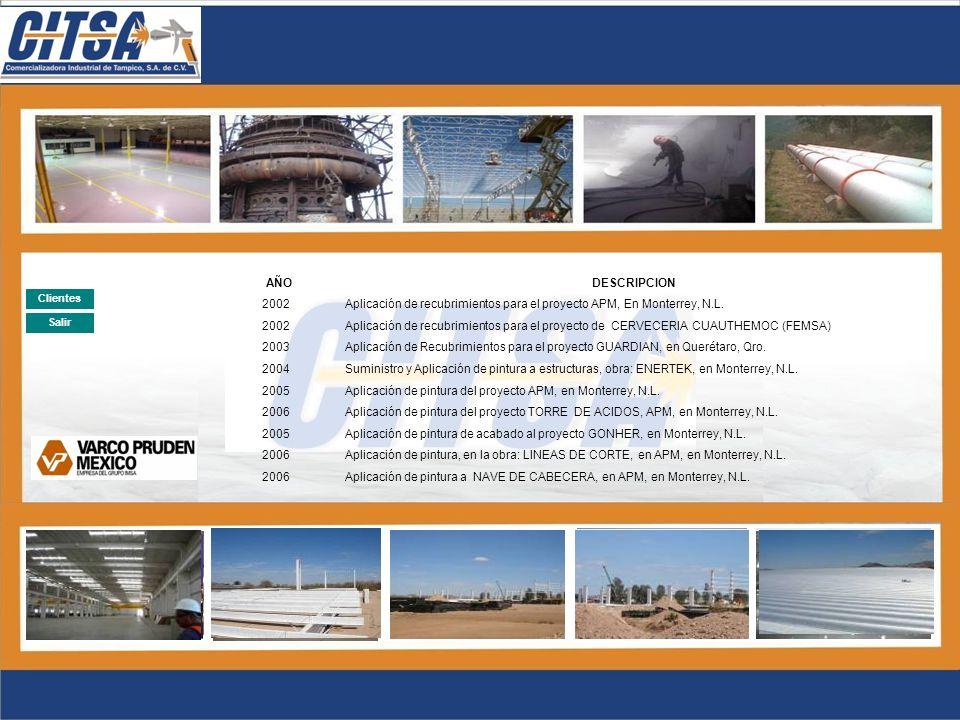 2005 Aplicación de pintura del proyecto APM, en Monterrey, N.L.