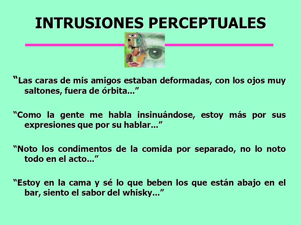 INTRUSIONES PERCEPTUALES