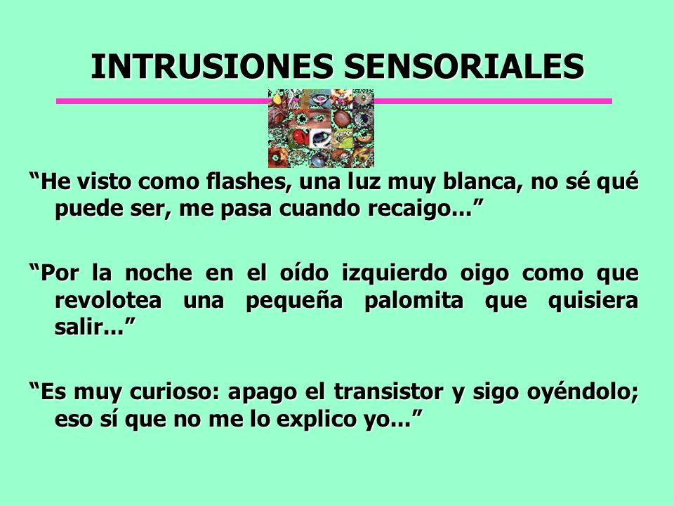 INTRUSIONES SENSORIALES