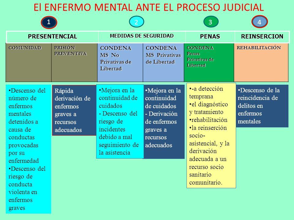 El ENFERMO MENTAL ANTE EL PROCESO JUDICIAL