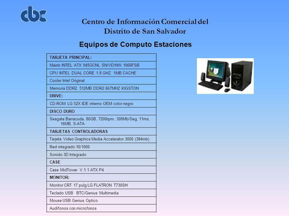 Centro de Información Comercial del Distrito de San Salvador