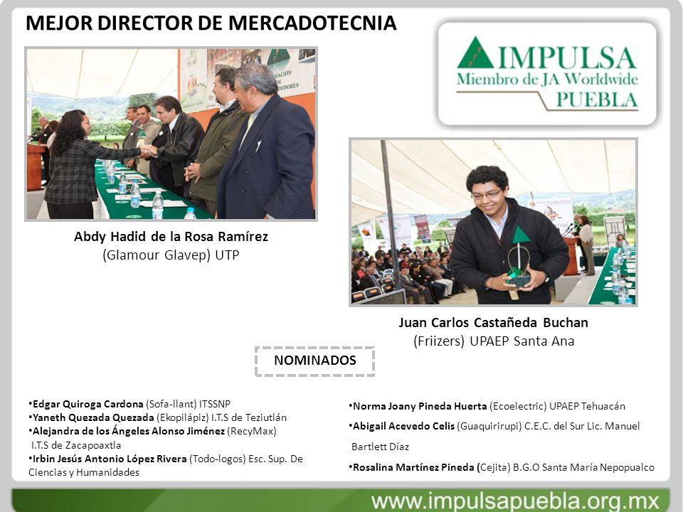 MEJOR DIRECTOR DE MERCADOTECNIA