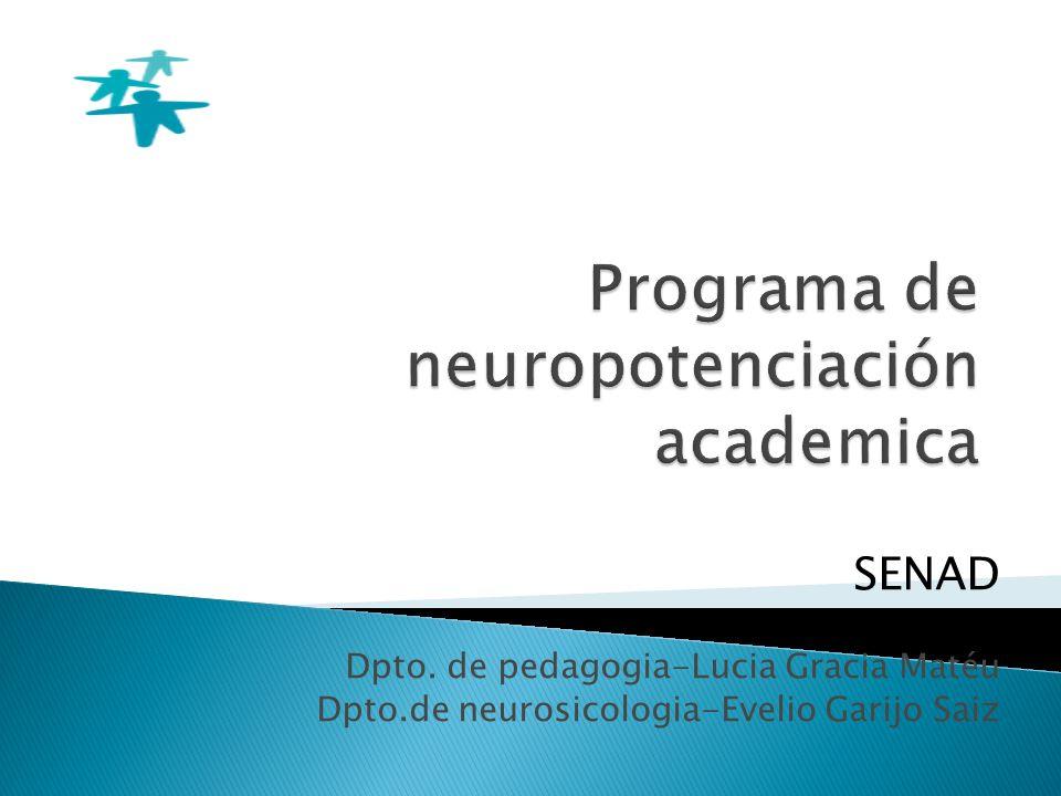 Programa de neuropotenciación academica