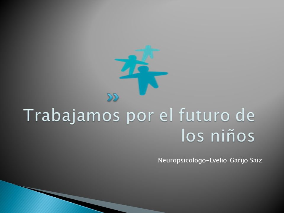 Trabajamos por el futuro de los niños