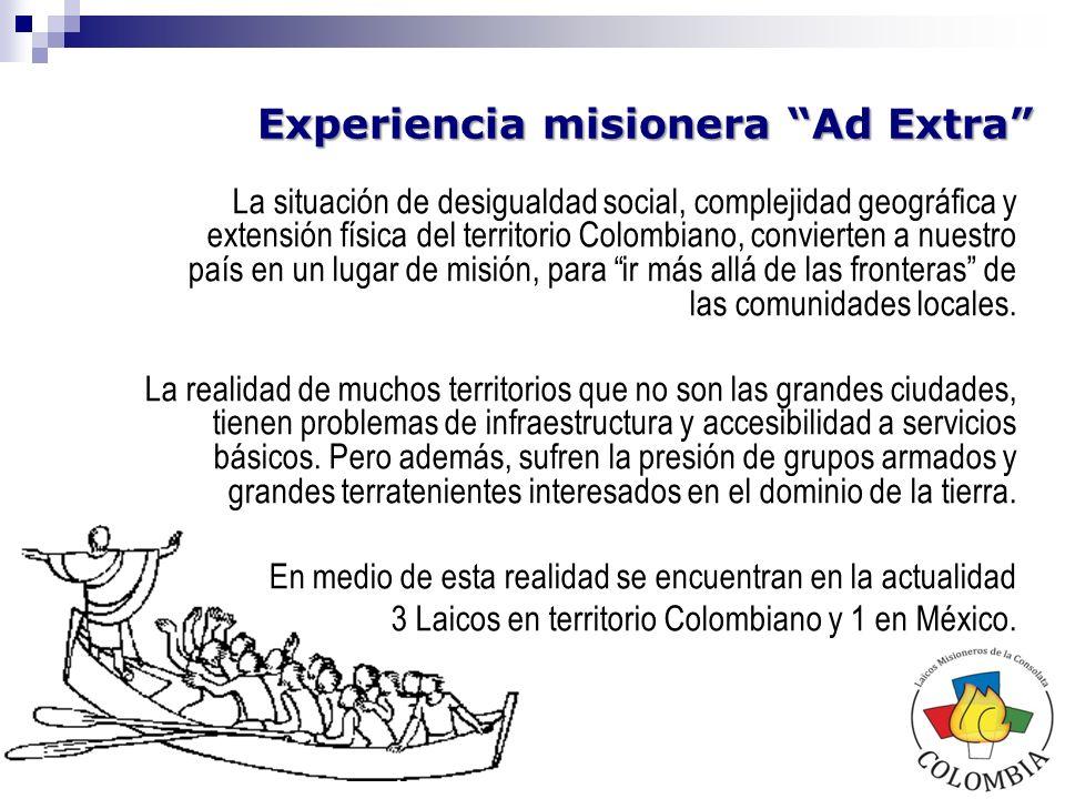 Experiencia misionera Ad Extra