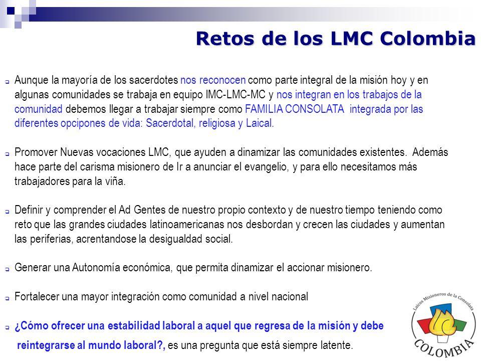 Retos de los LMC Colombia