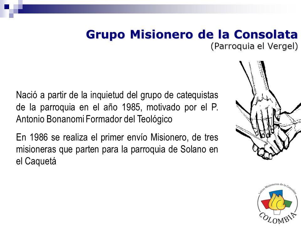 Grupo Misionero de la Consolata (Parroquia el Vergel)