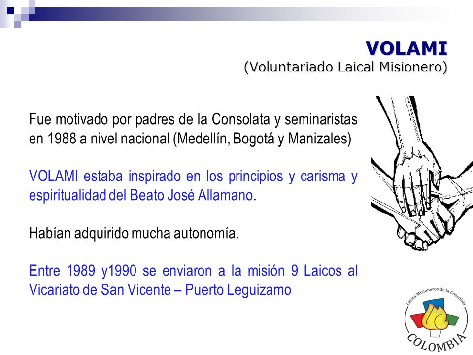 VOLAMI (Voluntariado Laical Misionero)