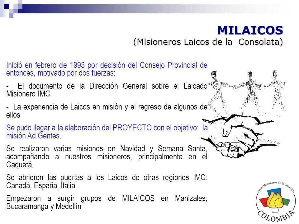 MILAICOS (Misioneros Laicos de la Consolata)