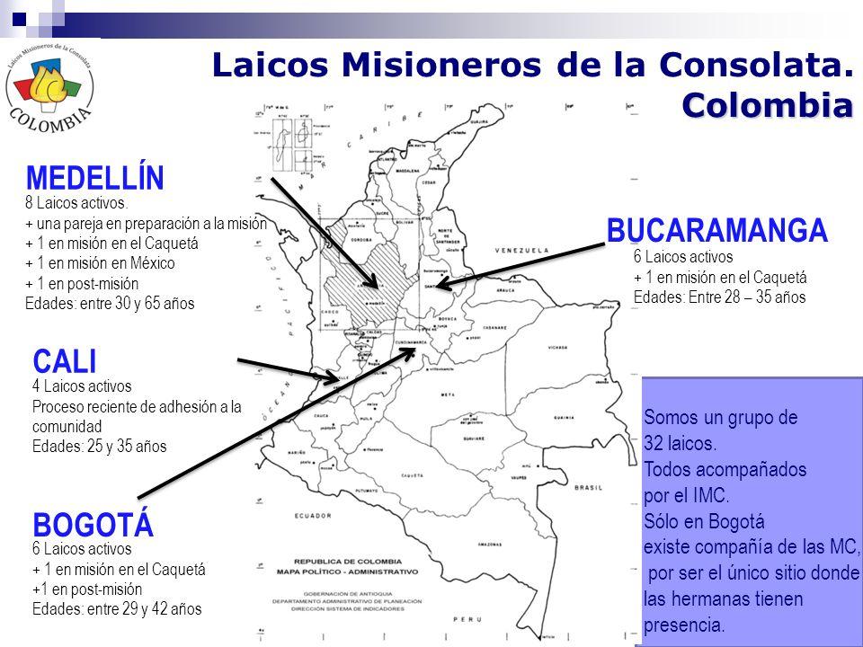 Laicos Misioneros de la Consolata. Colombia