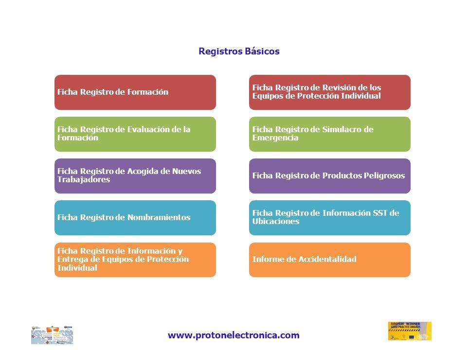 Registros Básicos www.protonelectronica.com
