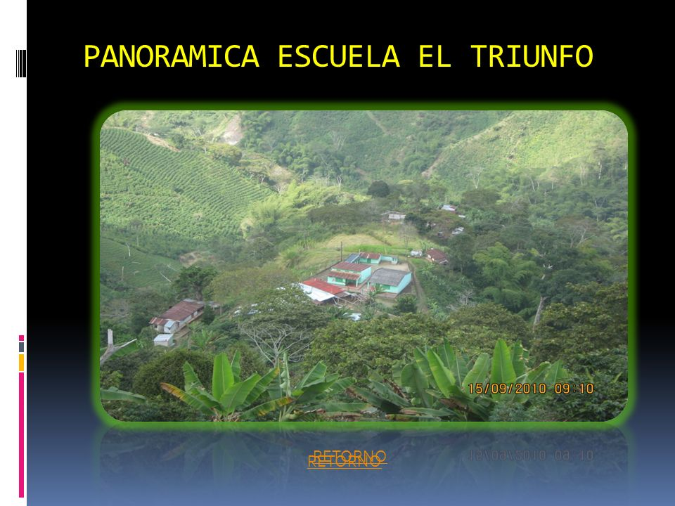 PANORAMICA ESCUELA EL TRIUNFO