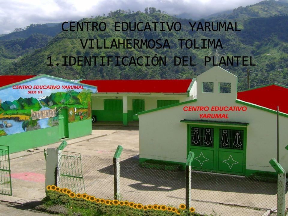 CENTRO EDUCATIVO YARUMAL VILLAHERMOSA TOLIMA 1