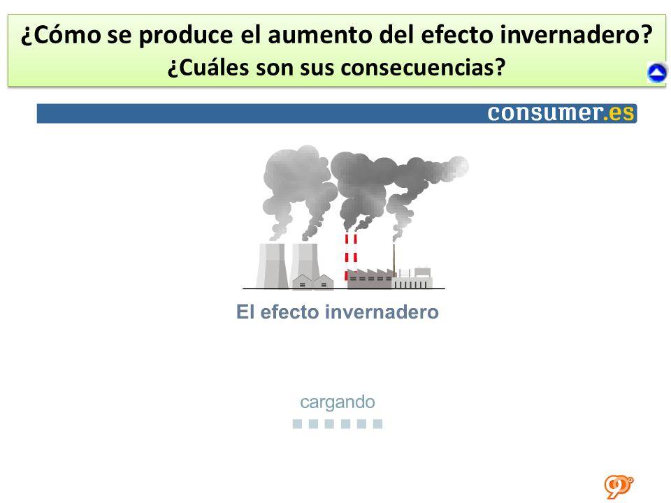 ¿Cómo se produce el aumento del efecto invernadero