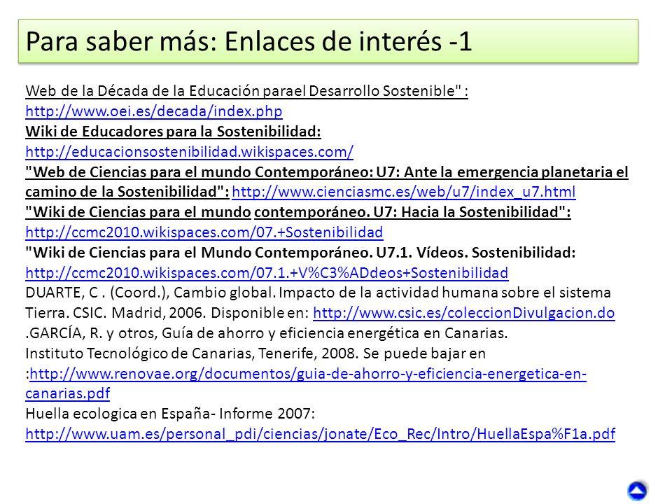 Para saber más: Enlaces de interés -1
