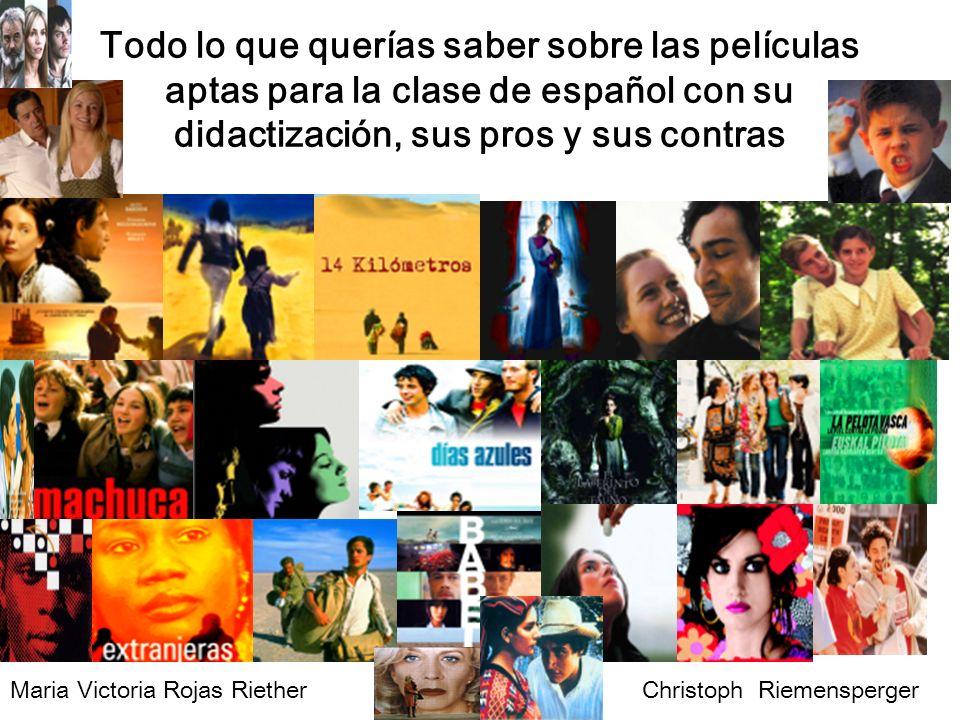 Todo lo que querías saber sobre las películas aptas para la clase de español con su didactización, sus pros y sus contras