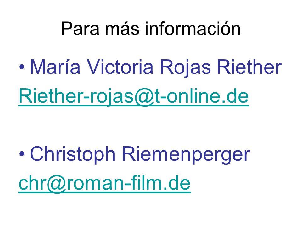 María Victoria Rojas Riether Riether-rojas@t-online.de