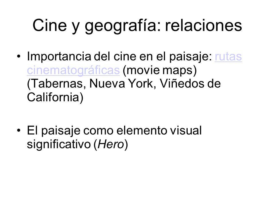 Cine y geografía: relaciones