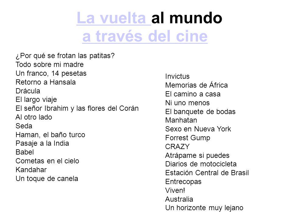 La vuelta al mundo a través del cine