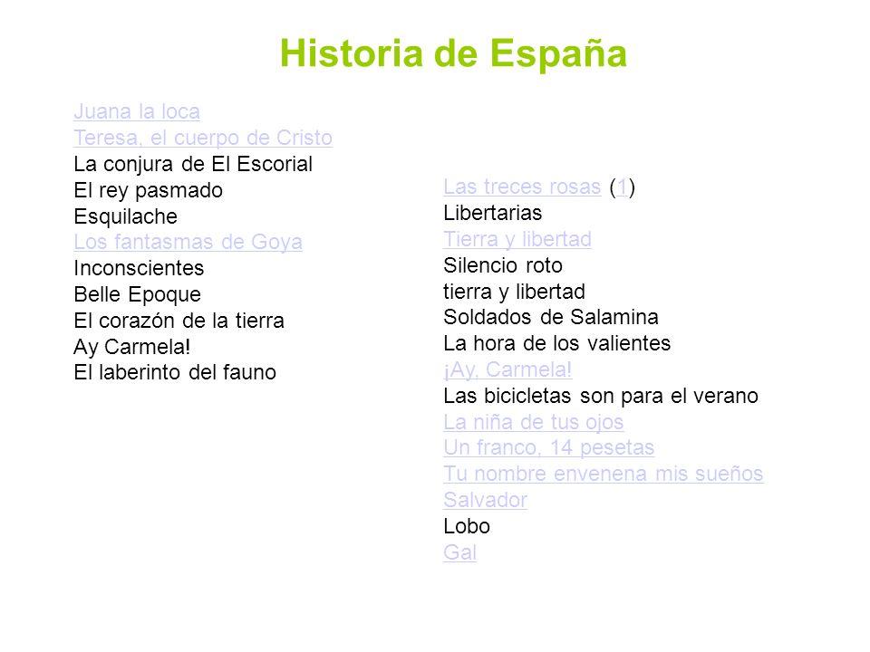 Historia de España Juana la loca Teresa, el cuerpo de Cristo