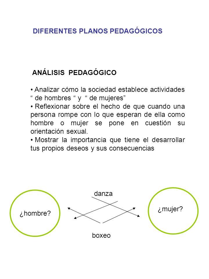 DIFERENTES PLANOS PEDAGÓGICOS