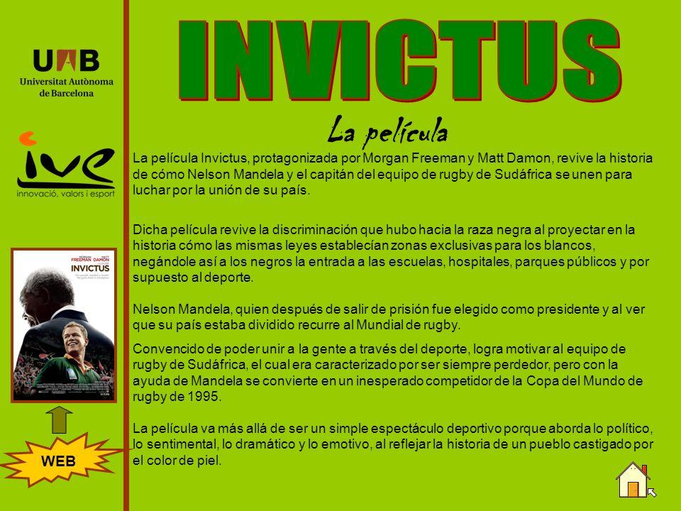 INVICTUS La película WEB