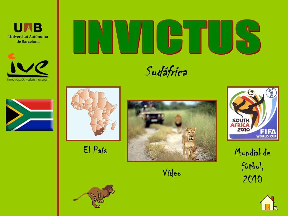 INVICTUS Sudáfrica El País Mundial de fútbol, 2010 Vídeo