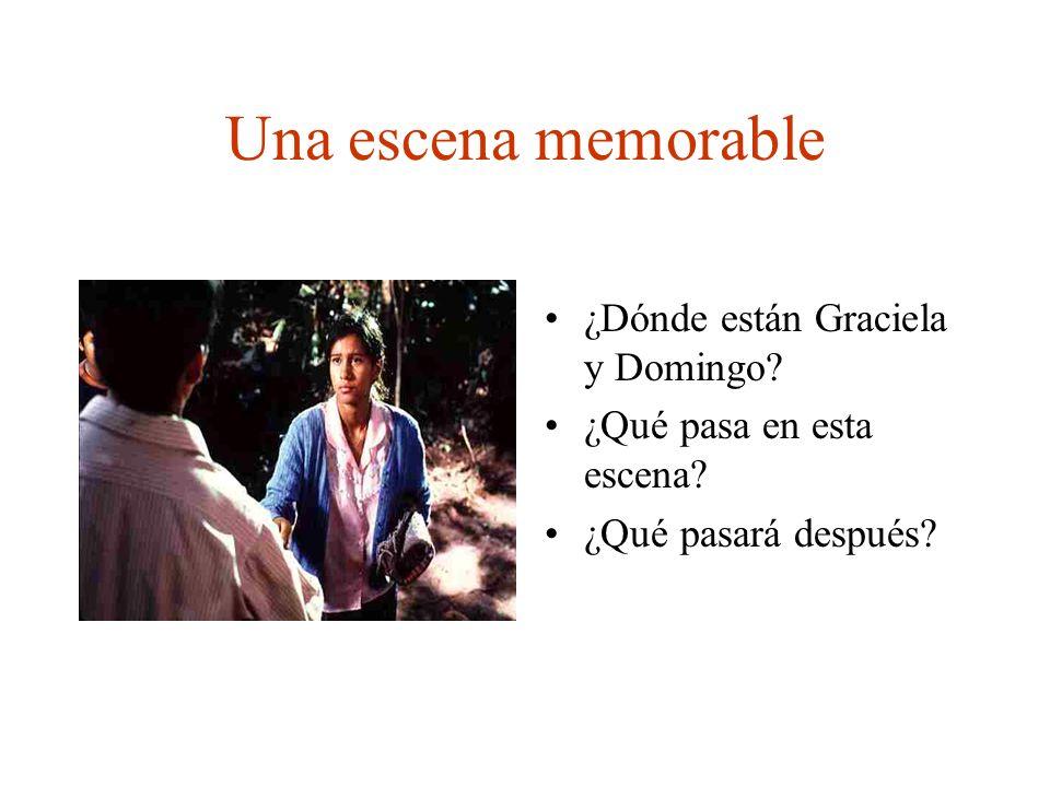 Una escena memorable ¿Dónde están Graciela y Domingo