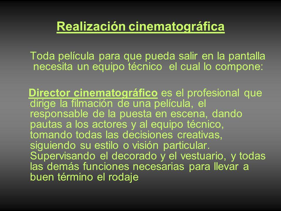 Realización cinematográfica