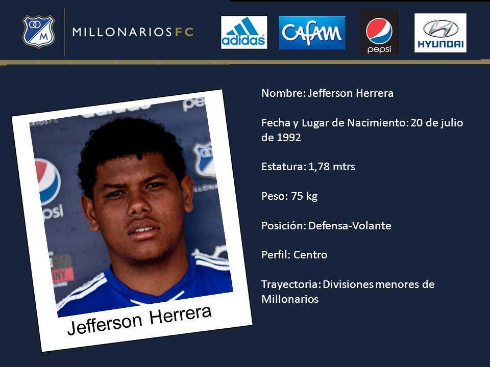 Jefferson Herrera Nombre: Jefferson Herrera