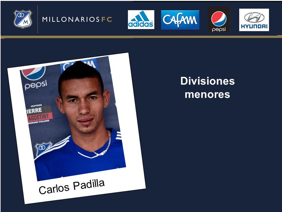 Divisiones menores Carlos Padilla