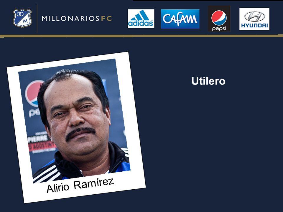 Utilero Alirio Ramírez