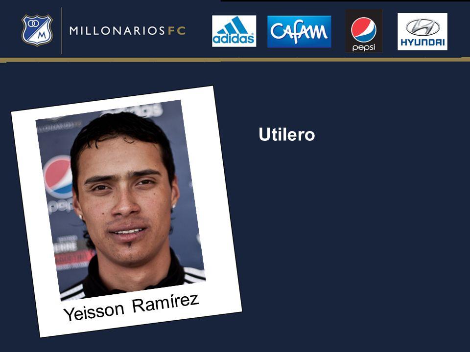 Utilero Yeisson Ramírez