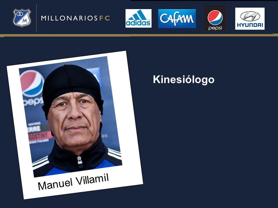 Kinesiólogo Manuel Villamil