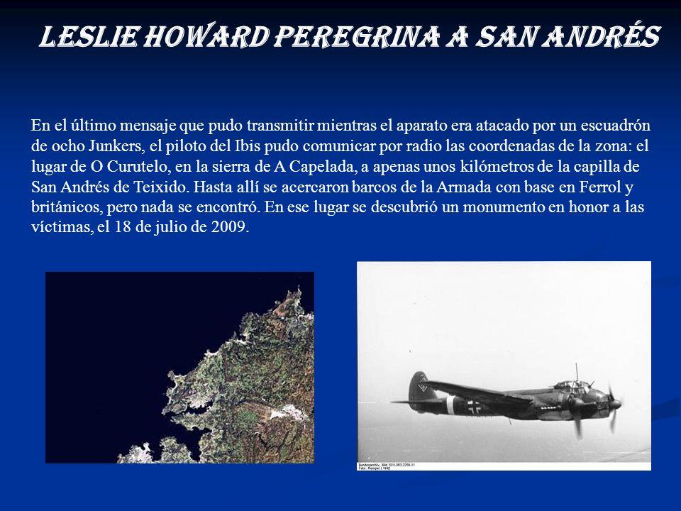 Leslie Howard peregrina a San Andrés