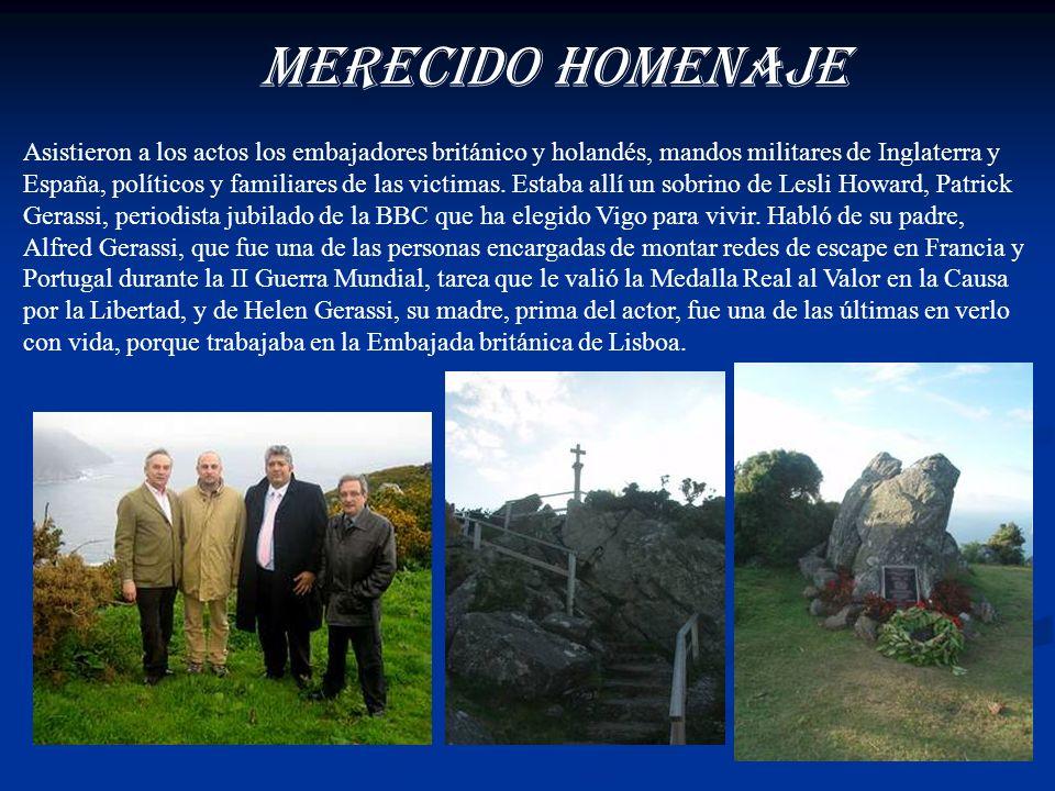 MERECIDO HOMENAJE